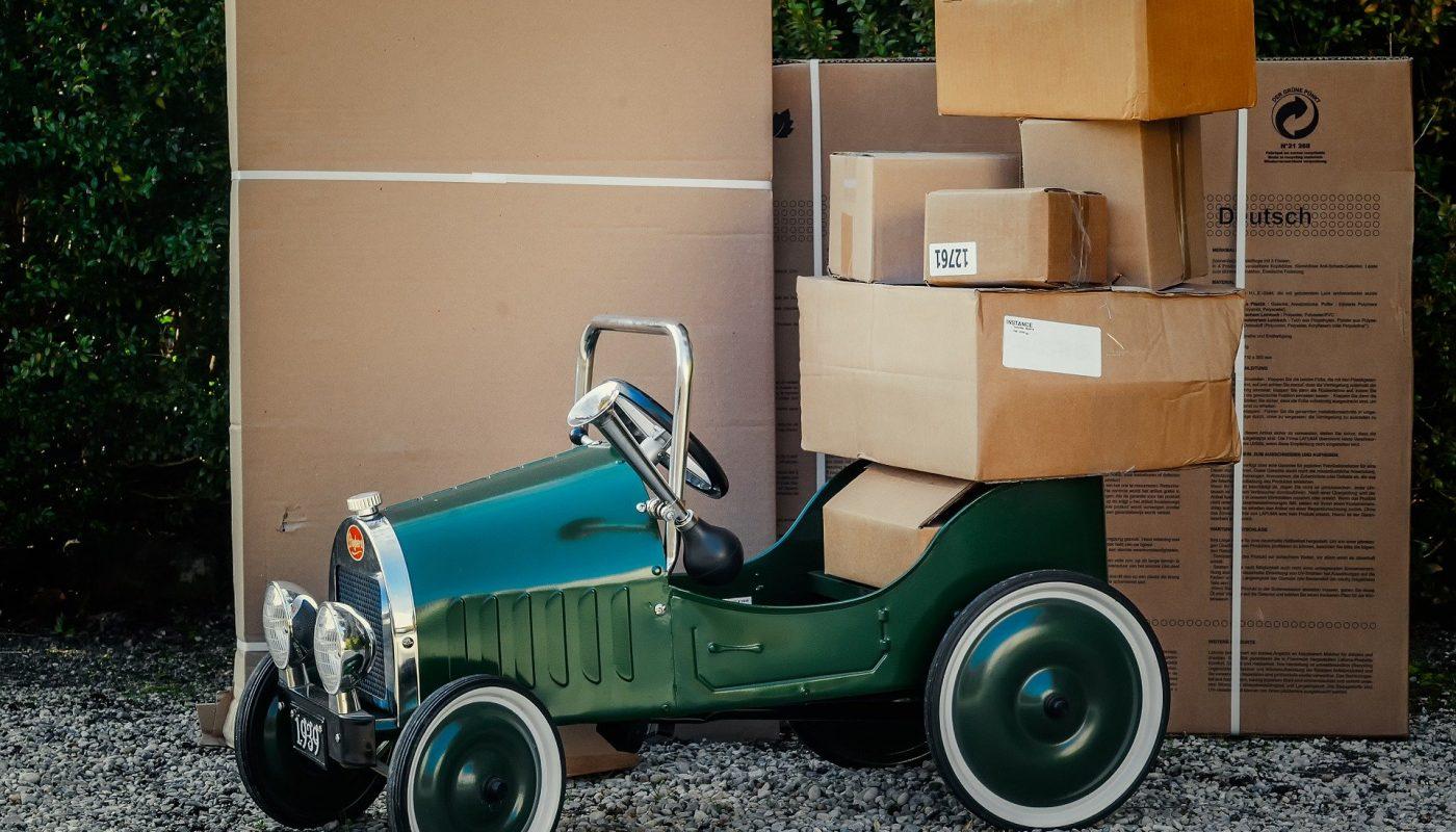déménagement cartons
