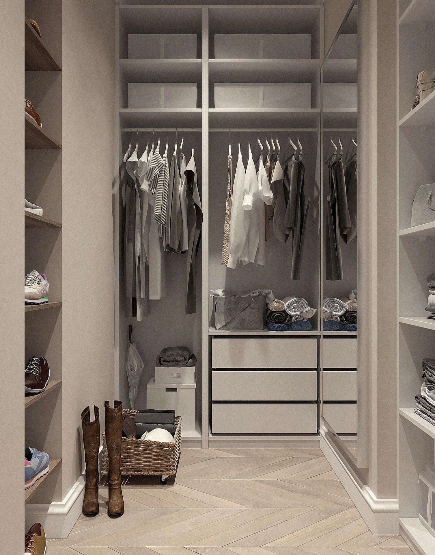 Le dressing, une pièce essentielle
